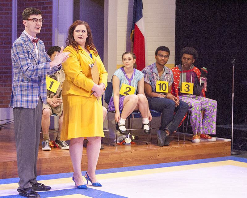 "Collin College's performance of ""The 25th Annual Putnam County Spelling Bee"""